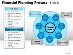 PowerPoint Backgrounds Teamwork Financial Planning Ppt Slide