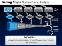 PowerPoint Backgrounds Teamwork Pipeline Funnel Ppt Layout