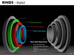 PowerPoint Backgrounds Teamwork Ring Chart Ppt Design