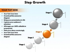 PowerPoint Backgrounds Teamwork Step Growth Ppt Presentation