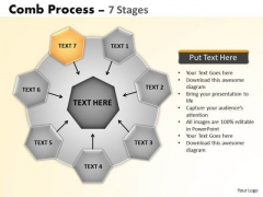 PowerPoint Backgrounds Teamwork Wheel And Spoke Process Ppt Presentation