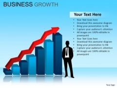 PowerPoint Business Strategy Business Growth Ppt Templates