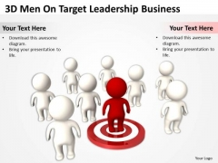 PowerPoint Business Target Leadership Templates Ppt Backgrounds For Slides