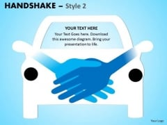 PowerPoint Buy A Car Handshake Ppt Slide
