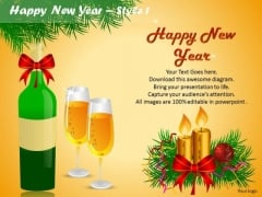 PowerPoint Celebrations Happy New Year Ppt Templates