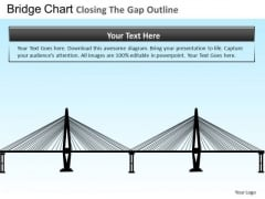 PowerPoint Design Bridge Closing Gap Executive Success Ppt Backgrounds