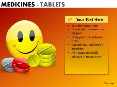 PowerPoint Design Business Competition Mission Medicine Tablets Ppt Themes