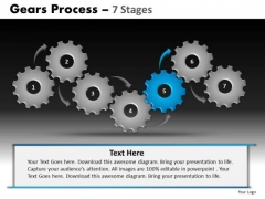 PowerPoint Design Business Gears Process Ppt Backgrounds