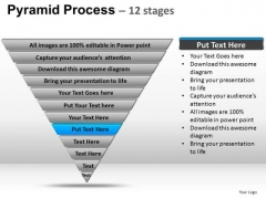 PowerPoint Design Business Pyramid Process Ppt Template