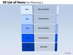 PowerPoint Design Business Success Mission 3d Steps List Ppt Slide Designs