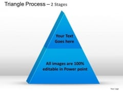 PowerPoint Design Business Triangle Process Ppt Slide