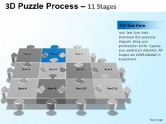 PowerPoint Design Chart Puzzle Process Ppt Presentation