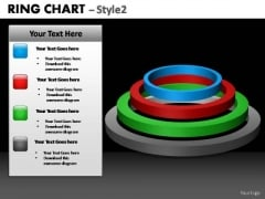 PowerPoint Design Chart Ring Chart Ppt Theme