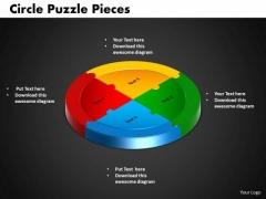 PowerPoint Design Circle Puzzle Business Ppt Theme