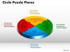 PowerPoint Design Circle Puzzle Pieces Business Ppt Slides