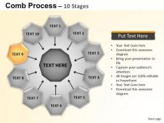 PowerPoint Design Circular Flow Diagram Ppt Backgrounds