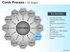 PowerPoint Design Circular Flow Diagram Ppt Presentation