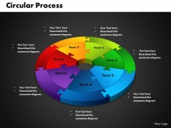 PowerPoint Design Circular Process Business Ppt Designs
