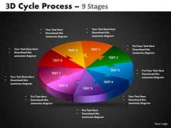 PowerPoint Design Circular Process Cycle Process Ppt Layouts