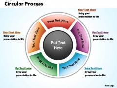 PowerPoint Design Company Circular Process Ppt Template