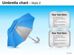 PowerPoint Design Company Strategy Goals Umbrella Chart Ppt Backgrounds