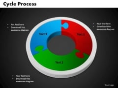 PowerPoint Design Cycle Process Marketing Ppt Slide