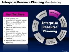 PowerPoint Design Diagram Enterprise Resource Ppt Layout