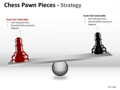 PowerPoint Design Download Chess Pawn Ppt Slides