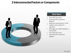 PowerPoint Design Download Interconnected Ppt Process