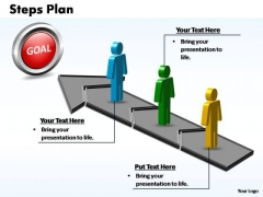 PowerPoint Design Download Steps Plan 3 Stages Style 2 Ppt Template