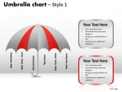 PowerPoint Design Download Umbrella Chart Ppt Templates