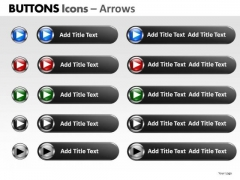 PowerPoint Design Editable Buttons Icons Ppt Presentation