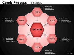 PowerPoint Design Editable Hub And Spokes Process Ppt Layout
