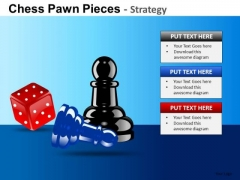 PowerPoint Design Executive Leadership Chess Pawn Ppt Templates