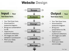 PowerPoint Design Executive Teamwork Website Design Ppt Slidelayout