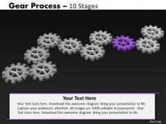 PowerPoint Design Global Gears Process Ppt Slide Designs