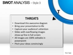 PowerPoint Design Global Swot Analysis Ppt Process