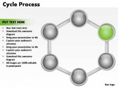PowerPoint Design Graphic Cycle Process Ppt Slide