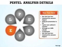 PowerPoint Design Graphic Pestel Analysis Ppt Slide