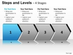 PowerPoint Design Growth Steps And Levels Ppt Templates