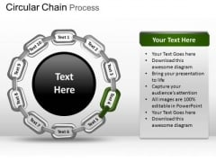 PowerPoint Design Image Circular Chain Ppt Designs