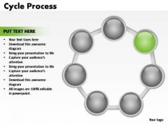 PowerPoint Design Image Cycle Process Ppt Template