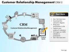 PowerPoint Design Image Relationship Management Ppt Slide