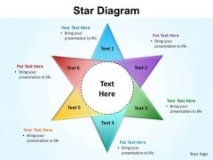 PowerPoint Design Image Star Diagram Ppt Design