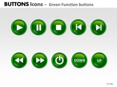 PowerPoint Design Leadership Buttons Icons Ppt Layout