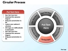 PowerPoint Design Leadership Circular Process Ppt Backgrounds