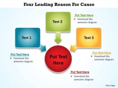 PowerPoint Design Leadership Five Leading Ppt Backgrounds