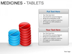 PowerPoint Design Leadership Medicine Tablets Ppt Theme