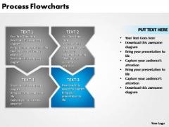 PowerPoint Design Marketing Process Flowcharts Ppt Presentation