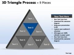 PowerPoint Design Marketing Triangle Process Ppt Presentation Designs